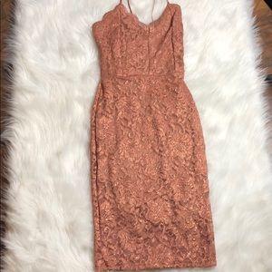NWT Windsor Midi Glitter Dress